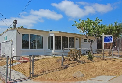 San Diego Single Family Home For Sale: 928 42nd St