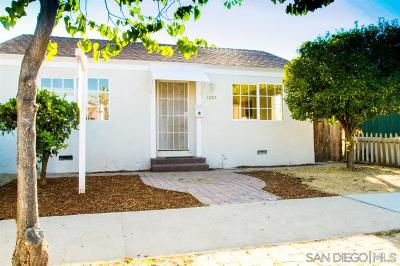 Chula Vista Single Family Home For Sale: 1082 Madison Ave