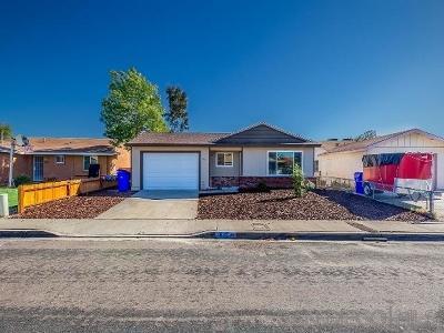 San Diego Single Family Home For Sale: 5835 Greycourt Ave