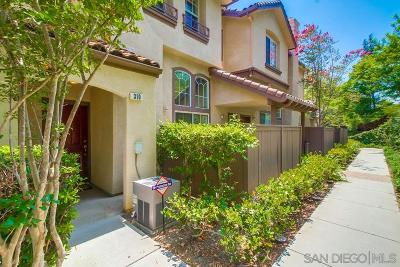 San Diego Townhouse For Sale: 10348 Wateridge Circle #310