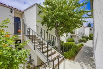 Carlsbad Attached For Sale: 6573 Paseo Del Norte #E