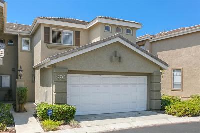 San Diego Townhouse For Sale: 3715 Ruette De Ville