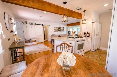 San Diego Single Family Home For Sale: 6612 Birchwood