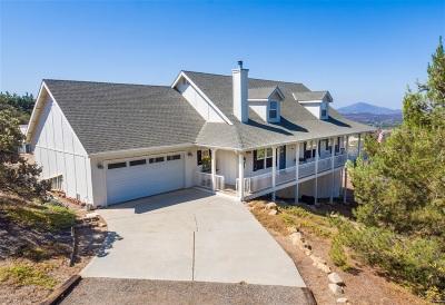 Ramona CA Single Family Home For Sale: $725,000
