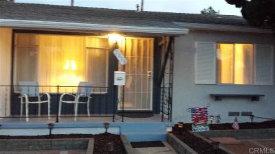 San Diego Single Family Home For Sale: 2879 Havasupai