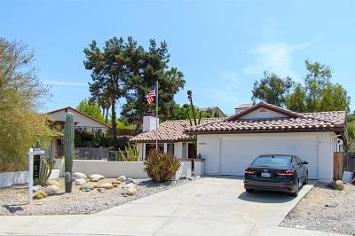 Oceanside Single Family Home For Sale: 2732 Jacaranda Drive