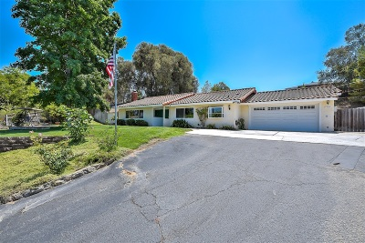 Vista Single Family Home For Sale: 1409 Monte Vista Drive
