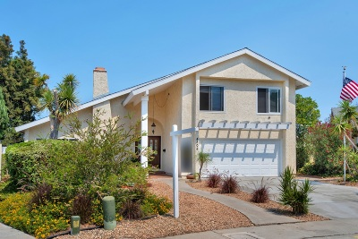 San Diego CA Single Family Home For Sale: $999,000