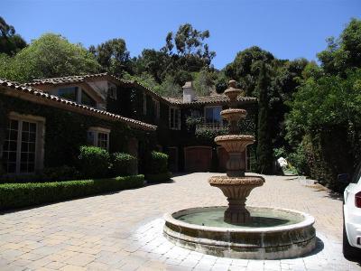 La Jolla Single Family Home For Sale: 2643 Hidden Valley Rd