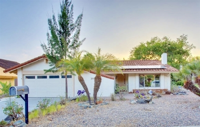 Escondido Single Family Home For Sale: 2027 David Drive