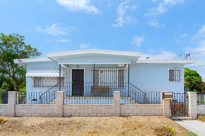 San Diego Single Family Home For Sale: 1140 S S 39th St