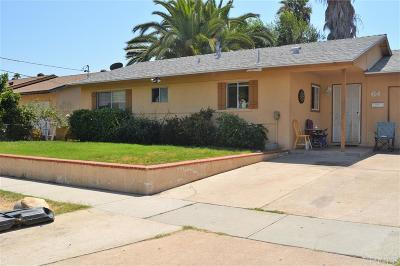 Escondido Single Family Home For Sale: 643 Begonia