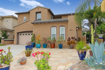 Carlsbad Single Family Home For Sale: 3968 Plateau Pl