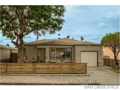 San Diego Single Family Home For Sale: 836 West St