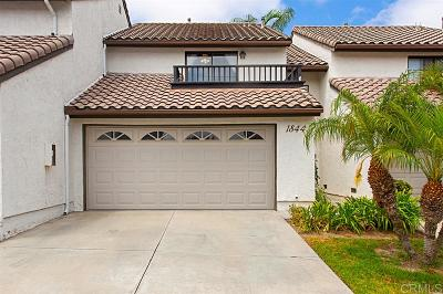 Carlsbad Townhouse For Sale: 1844 Cottonwood Ave