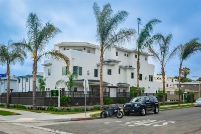 Pacific Beach, Pacific Beach Sail Bay, Pacific Beach, North Pacific Beach, Pacific Beach/Crown Point Townhouse For Sale: 1380 Grand Ave