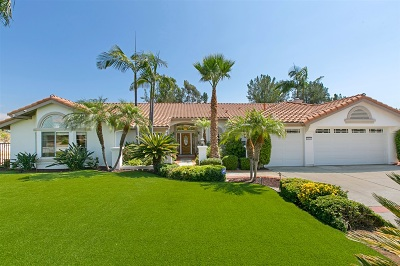Escondido Single Family Home For Sale: 1836 Continental Lane