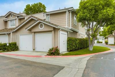 San Diego CA Townhouse For Sale: $745,000