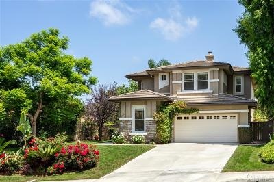 Carlsbad Single Family Home For Sale: 6334 Paseo Descanso