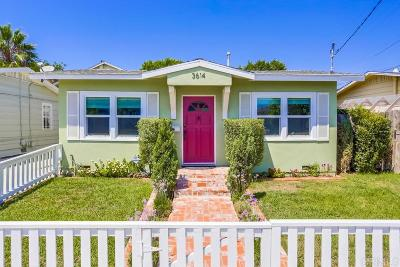 San Diego Single Family Home For Sale: 3614 Monroe Ave