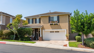Vista Single Family Home For Sale: 813 Sierra Verde