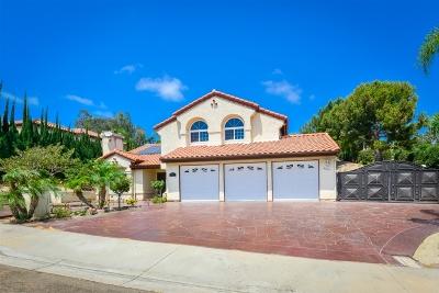 Bonita Single Family Home For Sale: 4697 Gaviota Ct