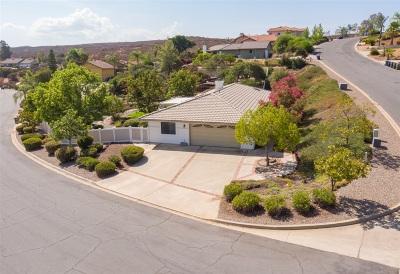 San Diego County Single Family Home For Sale: 15751 Rainbird Rd.