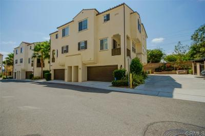 Oceanside Townhouse For Sale: 5091 Tranquil Way #Unit 102