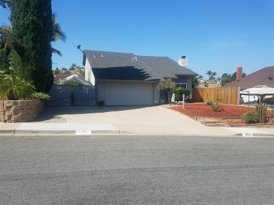 Single Family Home For Sale: 13917 Hawick Dr