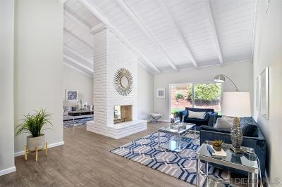 San Diego Single Family Home For Sale: 10729 Charbono Ter