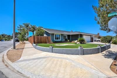 Escondido Single Family Home For Sale: 769 Highland Street