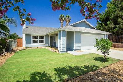 San Diego County Single Family Home For Sale: 9108 Christiana Street