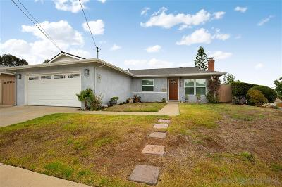 San Diego Single Family Home For Sale: 5448 Cole St