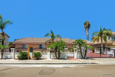 San Diego County Single Family Home For Sale: 886 Saint George