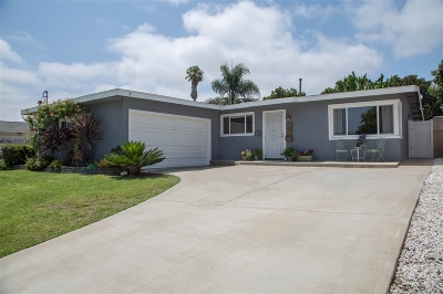 San Diego CA Single Family Home For Sale: $665,000