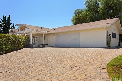 San Diego County Single Family Home For Sale: 226 Foxfire Lane
