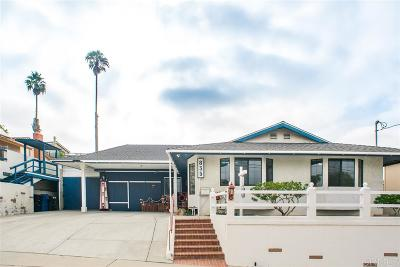 San Diego County Single Family Home For Sale: 835 David Dr.