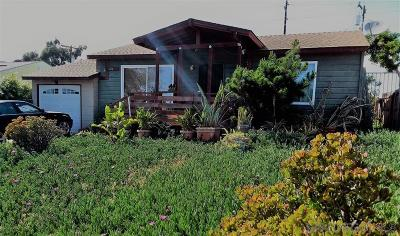 Oceanside Single Family Home For Sale: 614 Sunset Dr