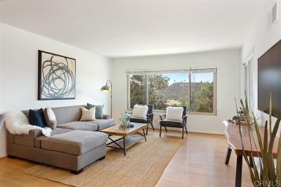 San Diego County Attached For Sale: 6816 Hyde Park Dr #O