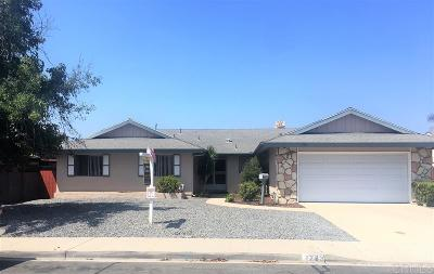 Chula Vista Single Family Home For Sale: 1783 Yale St