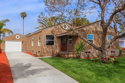 San Diego Single Family Home For Sale: 2235 Morningside St
