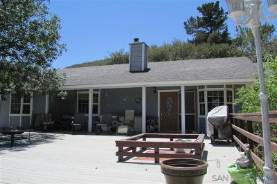 Julian CA Single Family Home For Sale: $349,000