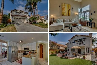 Oceanside Single Family Home For Sale: 3733 Via Las Villas