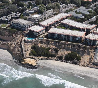 Solana Beach Attached For Sale: 190 Del Mar Shores Terrace #63