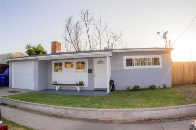 San Diego CA Single Family Home For Sale: $395,000