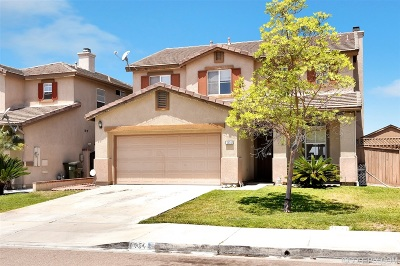 Chula Vista Single Family Home For Sale: 1454 Ewing