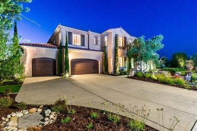 Single Family Home For Sale: 15252 Via Santa Vienta