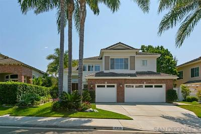 Carlsbad CA Single Family Home For Sale: $1,200,000
