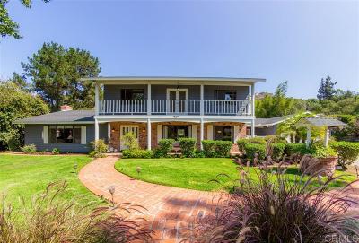 Escondido CA Single Family Home For Sale: $789,000