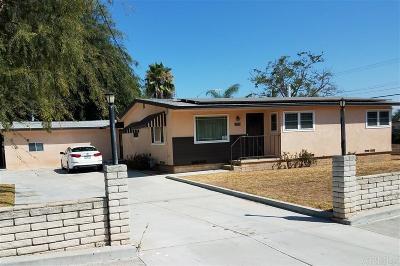 Escondido CA Single Family Home For Sale: $489,500